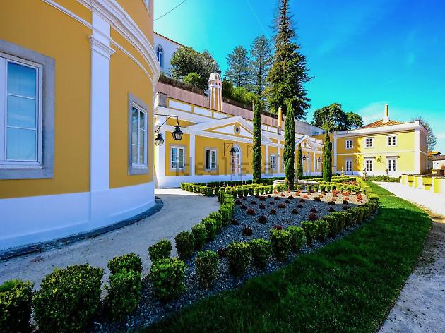 Palacete mandado construir pelo Marquês de Saldanha