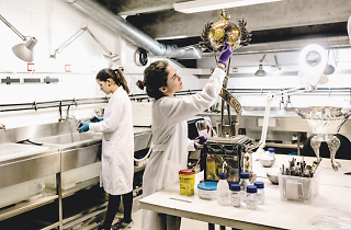 laboratorio do museu cosme damiao