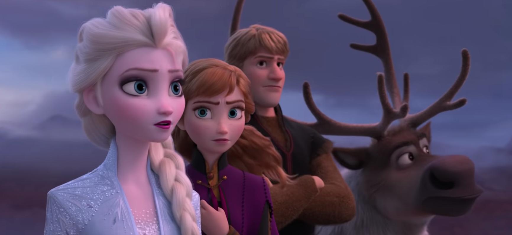 El tràiler 'Frozen 2',  fenomen viral