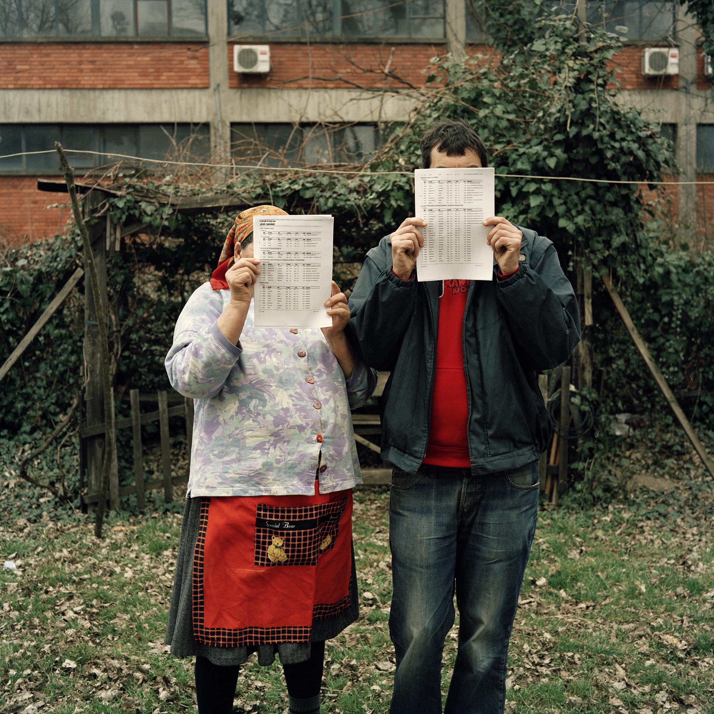 Mireia Sallarès. Kao malo vode na dlanu (com una mica d'aigua al palmell), un projecte sobre l'amor a Sèrbia