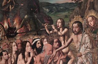'Davallament de Crist als Llimbs', de Bartolomé Bermejo