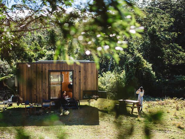Tiny house (Photograph: Luisa Brimble)