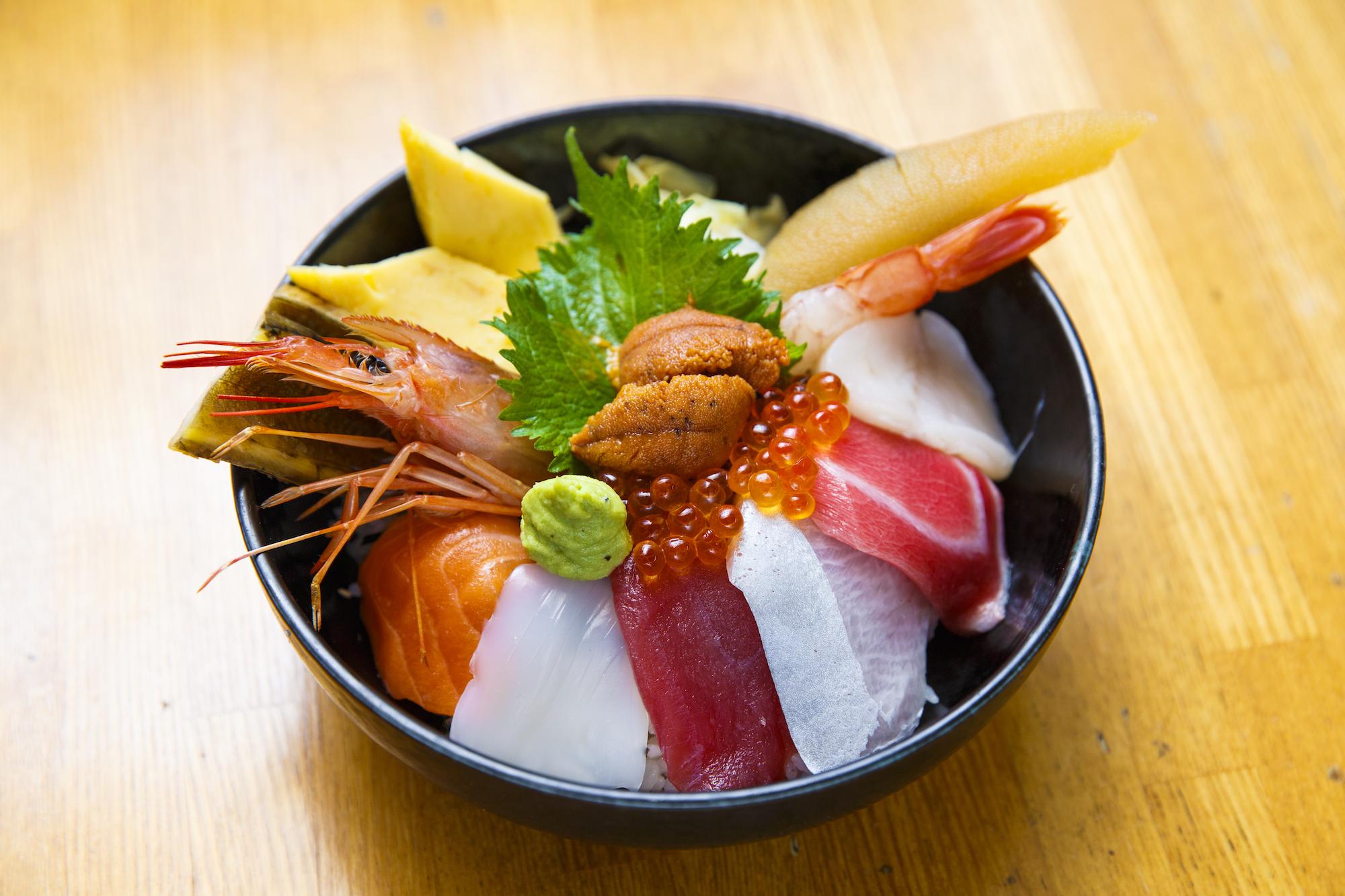 東京、海鮮丼5選