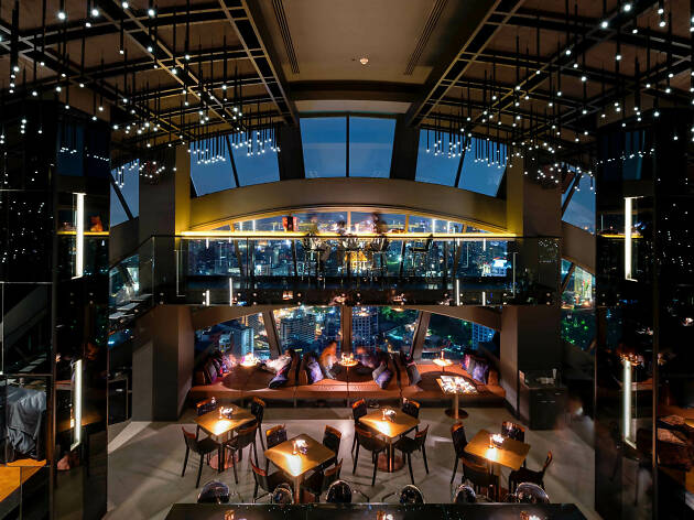 Best indoor sky bars in Bangkok