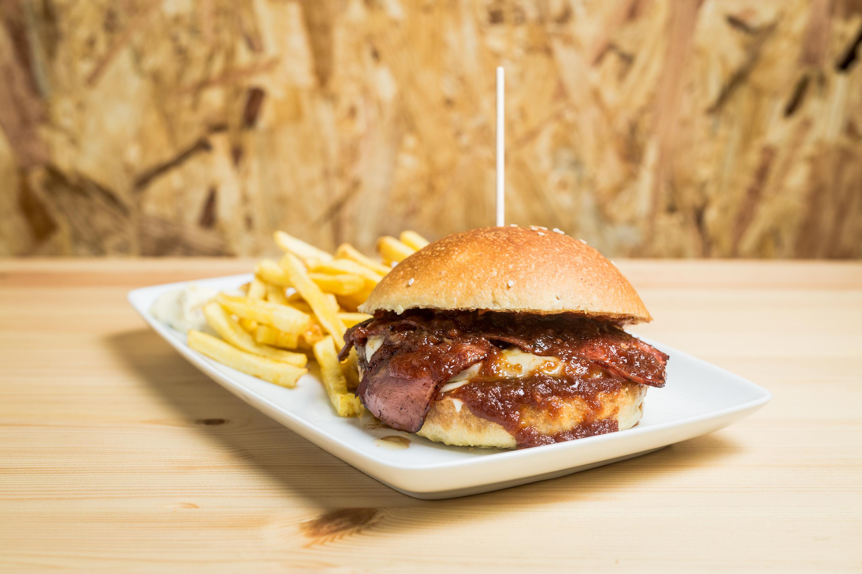 O hambúrger 86