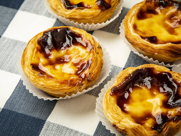 Pastel de nata at Madeira bakery in London