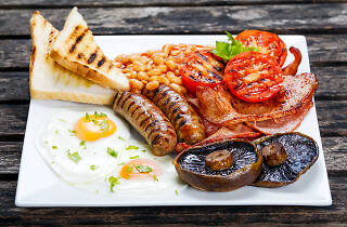 Breakfast in Glasgow