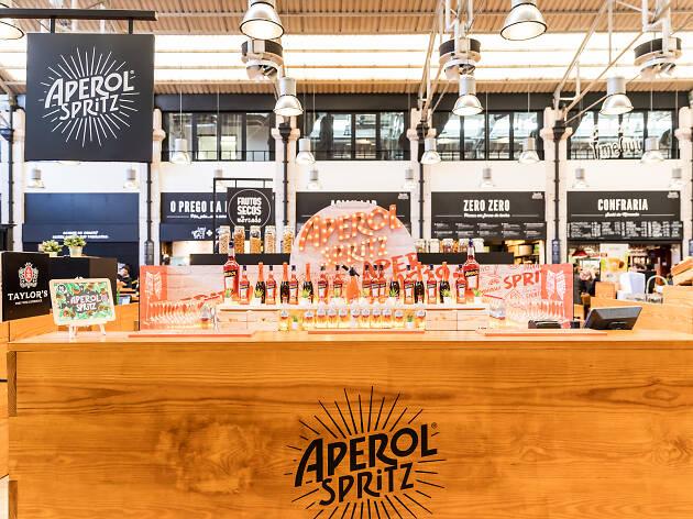 O Aperol Spritz chegou ao Time Out Market