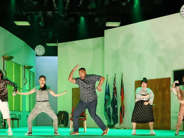 How to Rule the World Sydney Theatre Company 2019 production shot