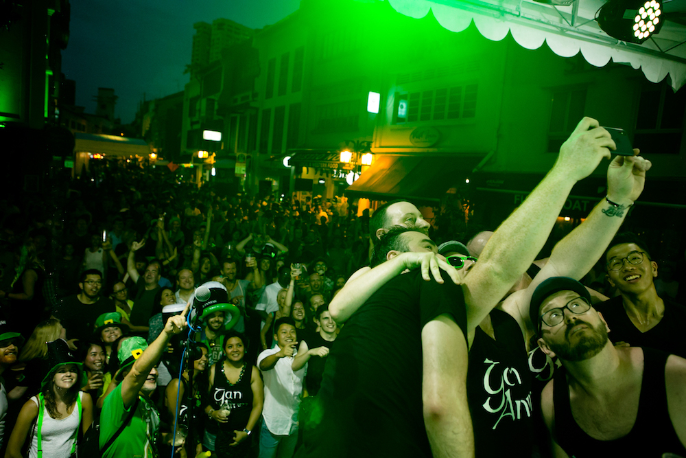 Celebrate St Patrick's Day in Singapore with All Hail Patricks by Guinness