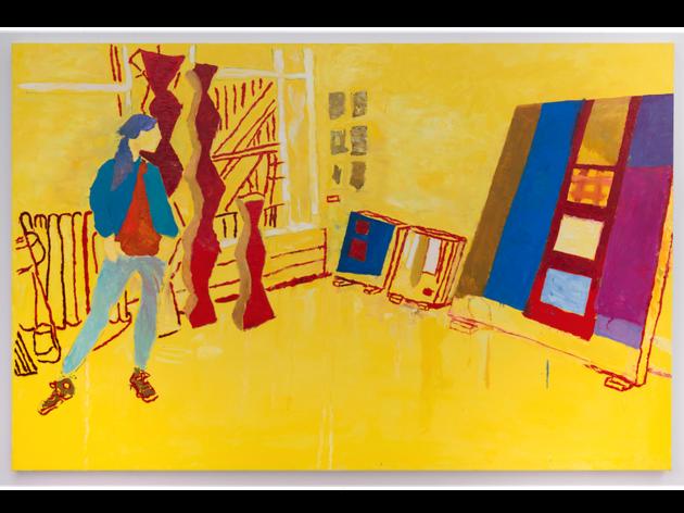 Kerri Scharlin, Josephine Meckseper in Her Studio, 2014-2016