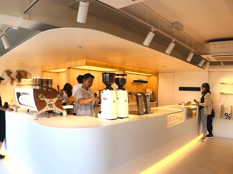 % Arabica(西環店):最美咖啡店