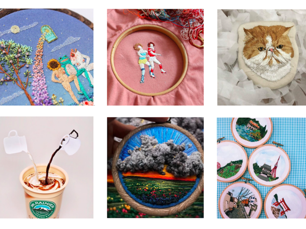 八個超治癒刺繡 Instagram 你要 follow
