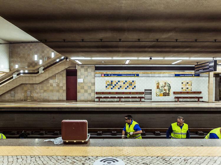Uma viagem pelos túneis fechados do Metro de Lisboa