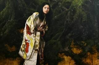 'Woman in the Forest' de Katsu Nakajima