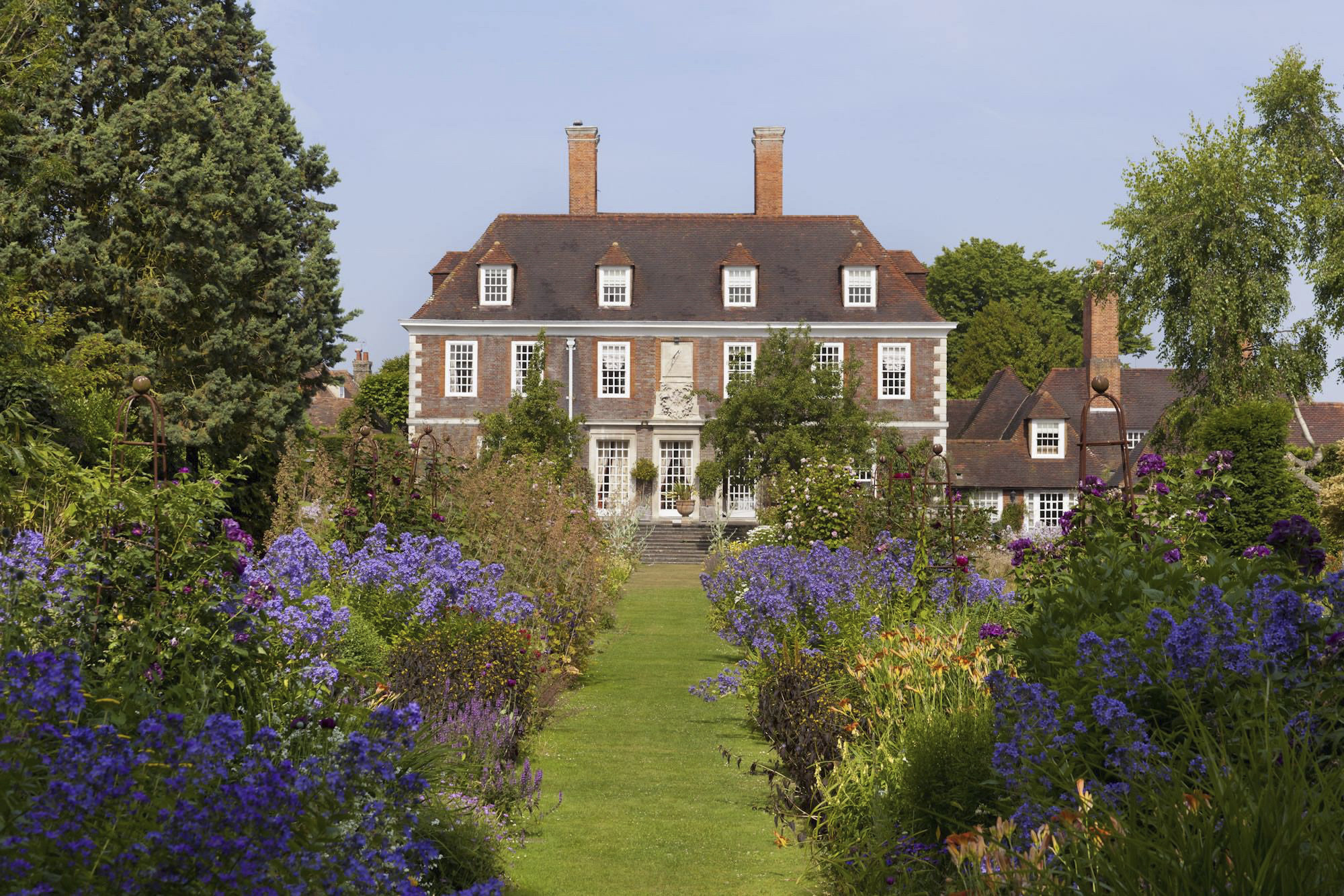 Gardens at The Salutation in Sandwich, Kent