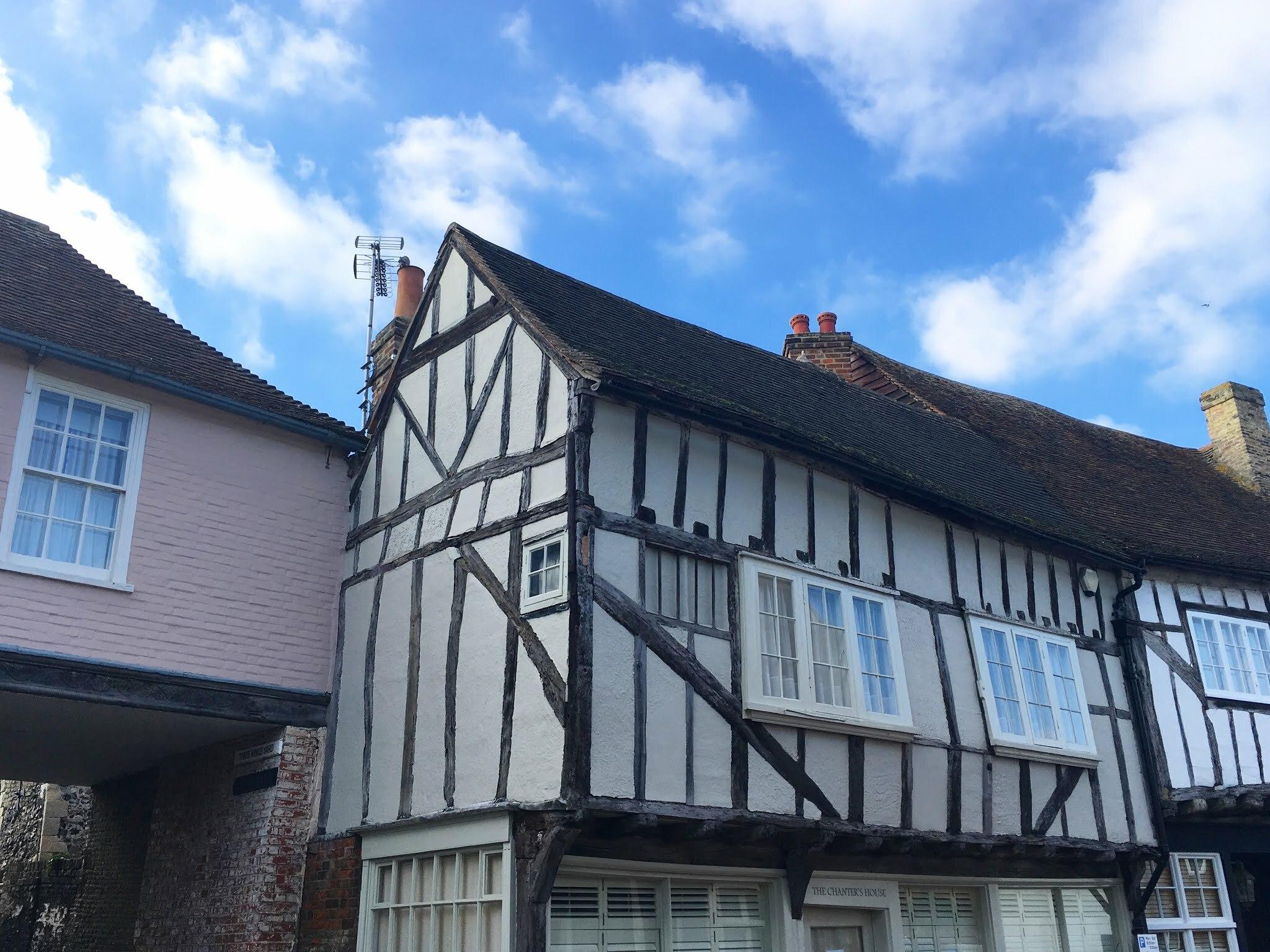 Cottages in Sandwich, Kent