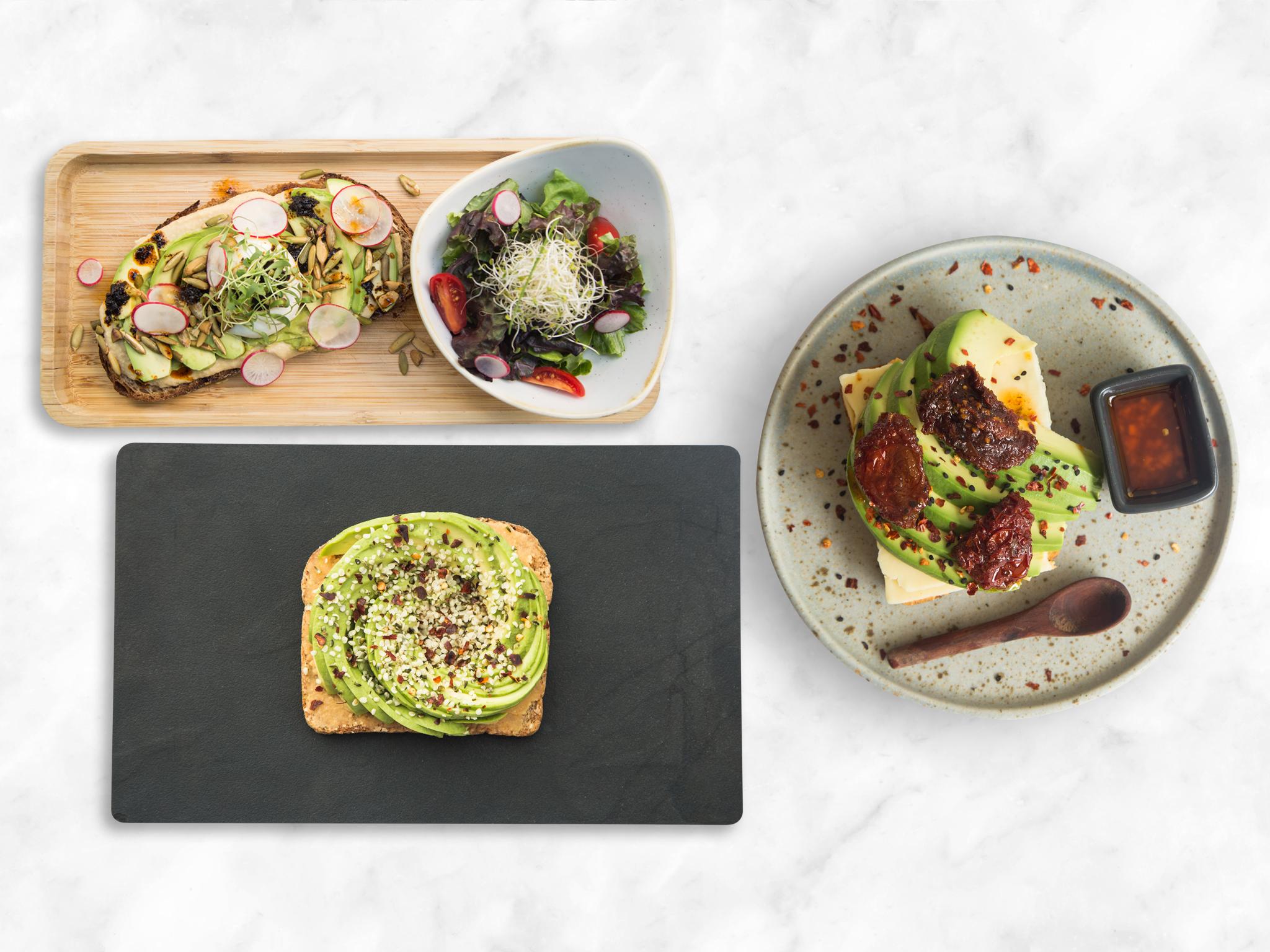 Avocado toasts imperdibles en la CDMX