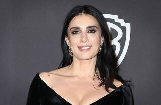 Nadine Labaki attends the InStyle And Warner Bros. Golden Globes After Party 2019
