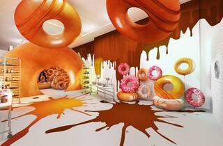 Krispy Kreme 'Magic in the Middle' Pop-Up
