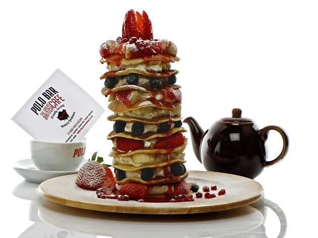 Pancake Challenge at Polo Bar