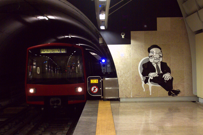 Uma viagem pela arte do Metro de Lisboa