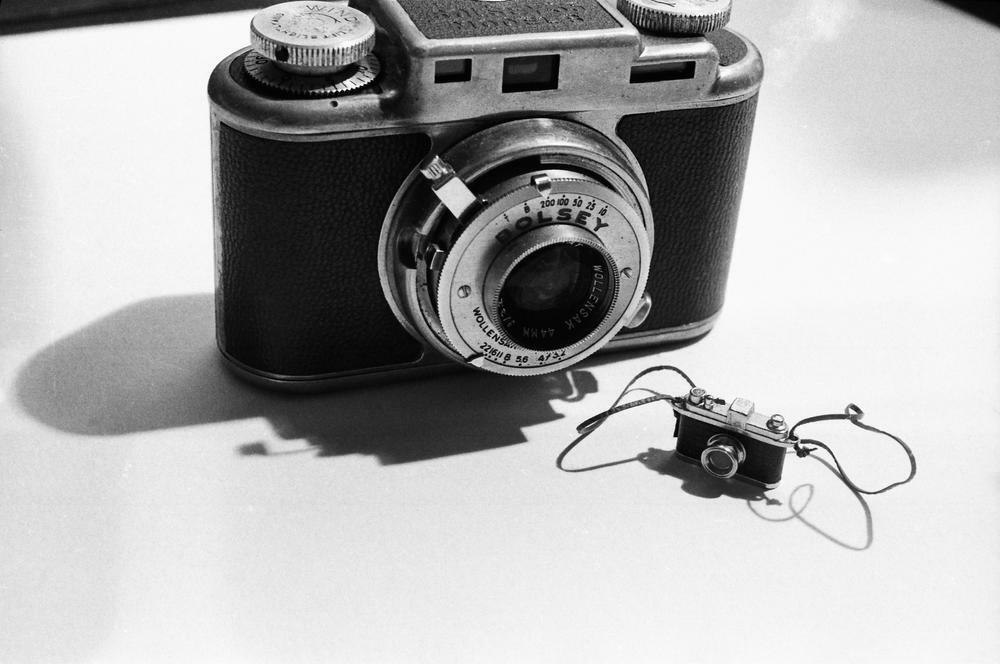 Laurie Simmons, Big Camera, Little Camera, 1976.