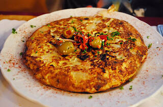 Spain Restaurant in Silver Lake Echo Park Spanish Tortilla