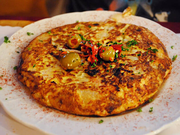 Spain Restaurant in Silver Lake Echo Park Spanish Tortilla