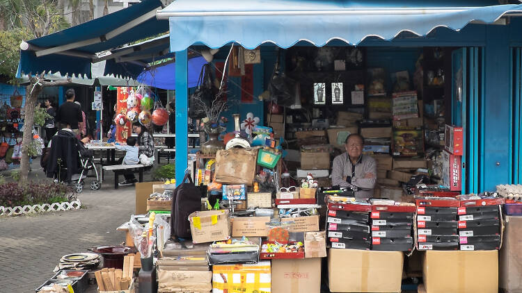 Kam Sheung Road Flea Market
