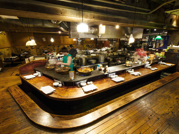 Join the locals for a night out at an izakaya at Shirube