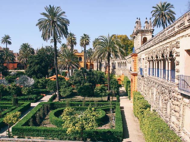 Jardines Real Alcázar de Sevilla