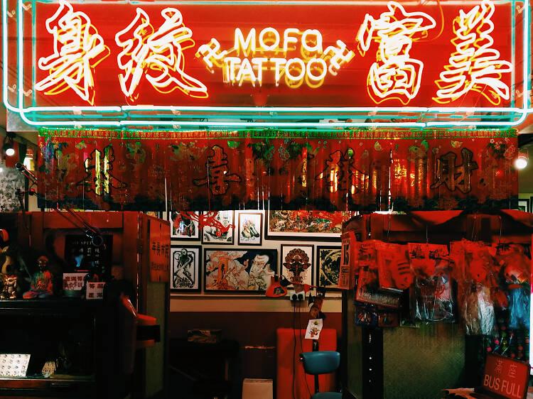 Sara Pierced Me, Mofo Tattoo