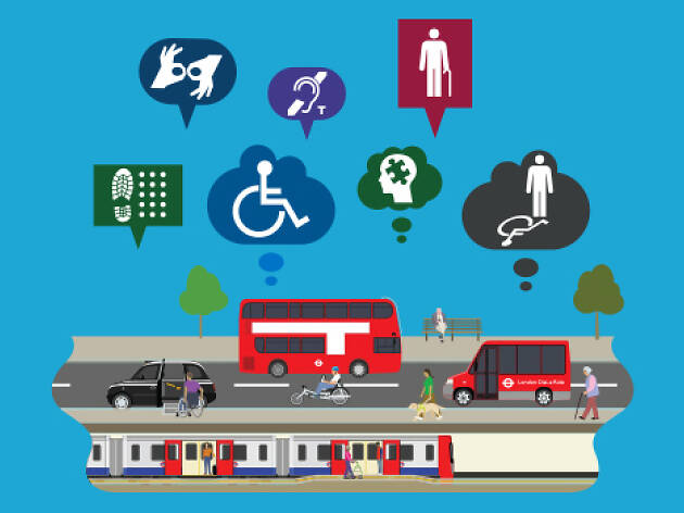 TfL red bus graphic