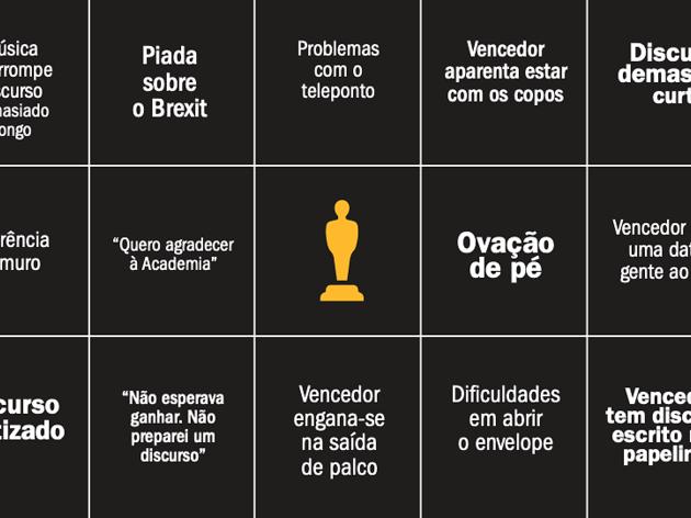 Bingo Óscares 2019