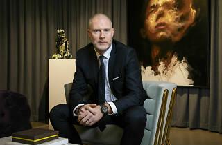 Jean-David Malat, gallery owner