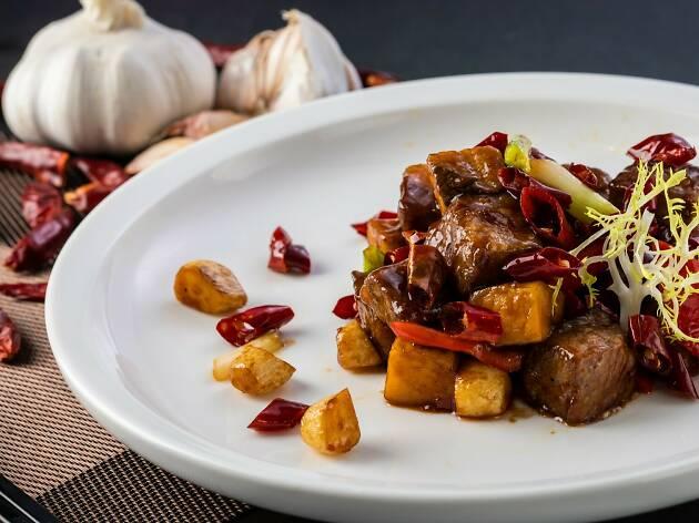 Sun Kitchen Stir-fried Wagyu Beef