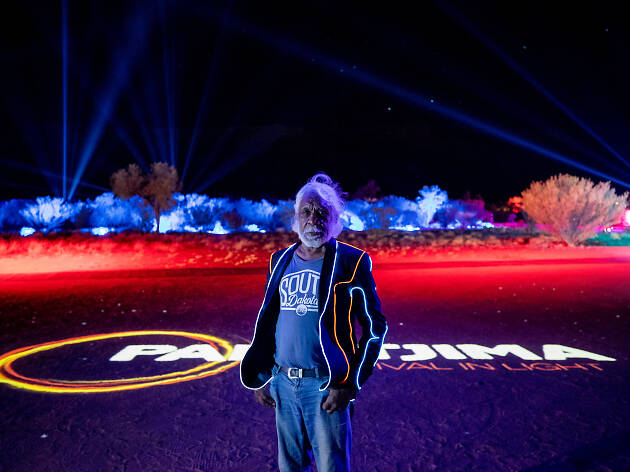 This spectacular light and art festival is your reason to visit Alice Springs