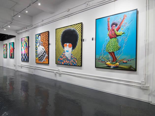 AfricArt Gallery interior