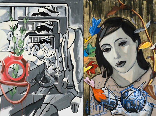 David Salle: Musicality and Humour review