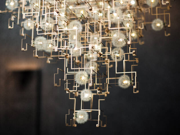 Fragile Future Diamond Chandelier. Studio Drift (2012)