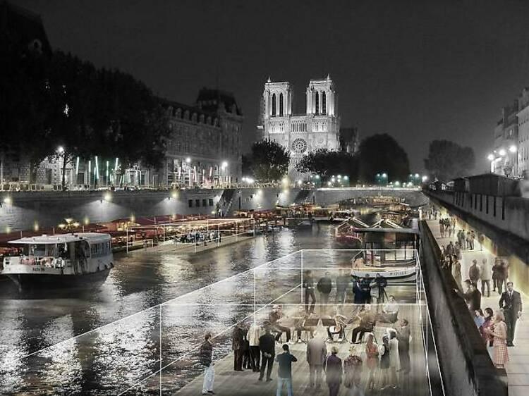 El Corazón de París. Île de la citè. 2040