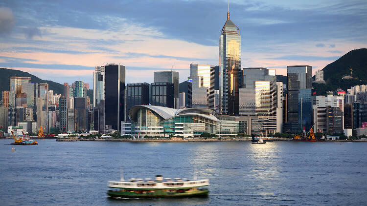Hong Kong harbour view