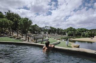 Peninsula Hot Springs ampitheatre