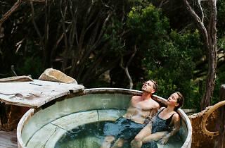 Peninsula Hot Springs private pool
