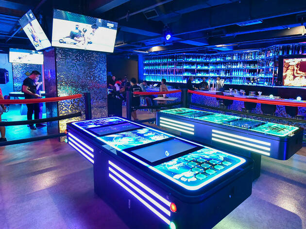 Top game bars in KL