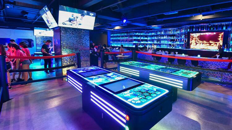 Top game bars in KL