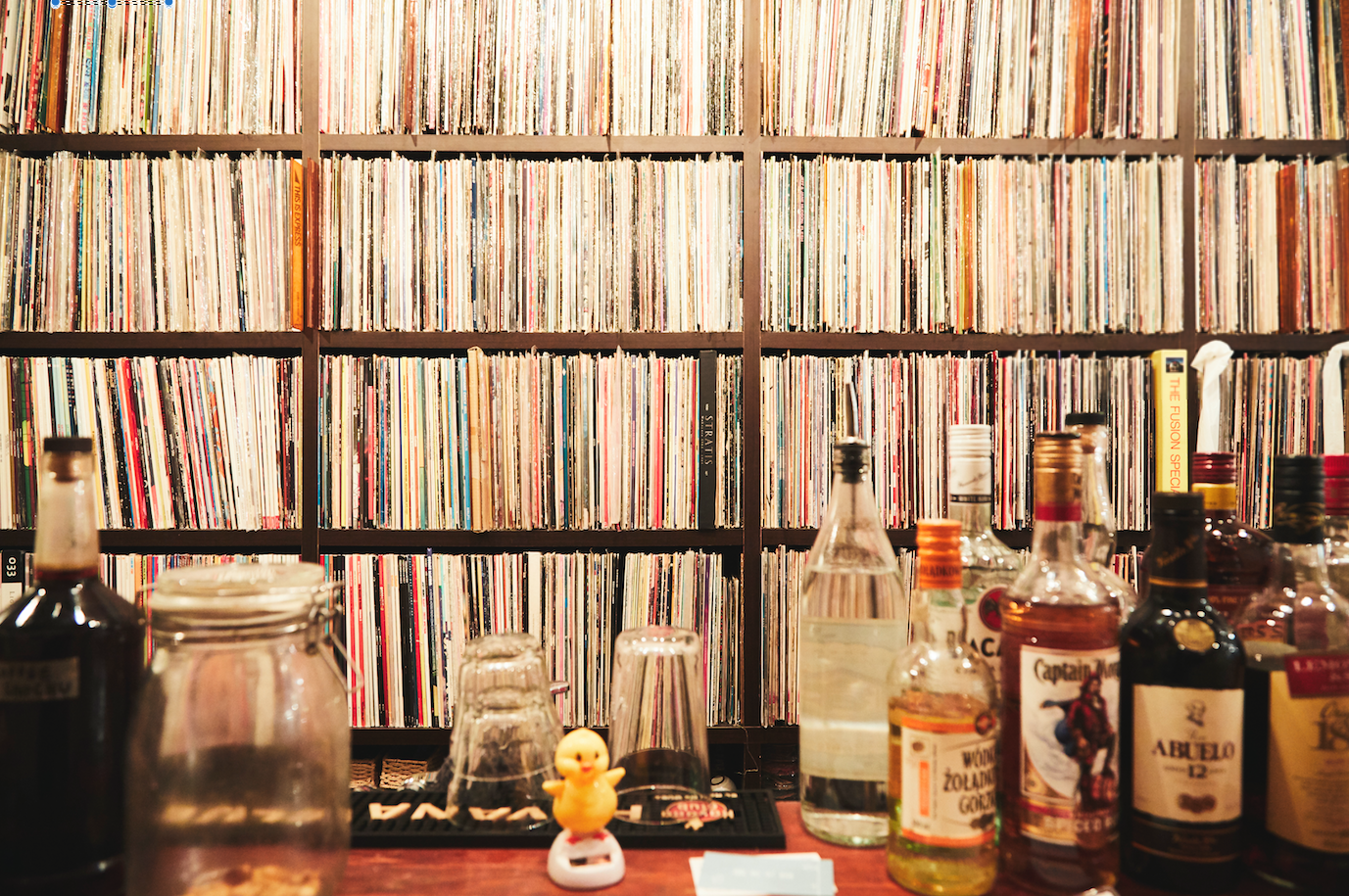 Upstairs Records & Bar