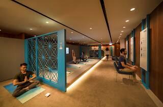 瑜逸閣 the sanctuary by pure yoga @hk airport