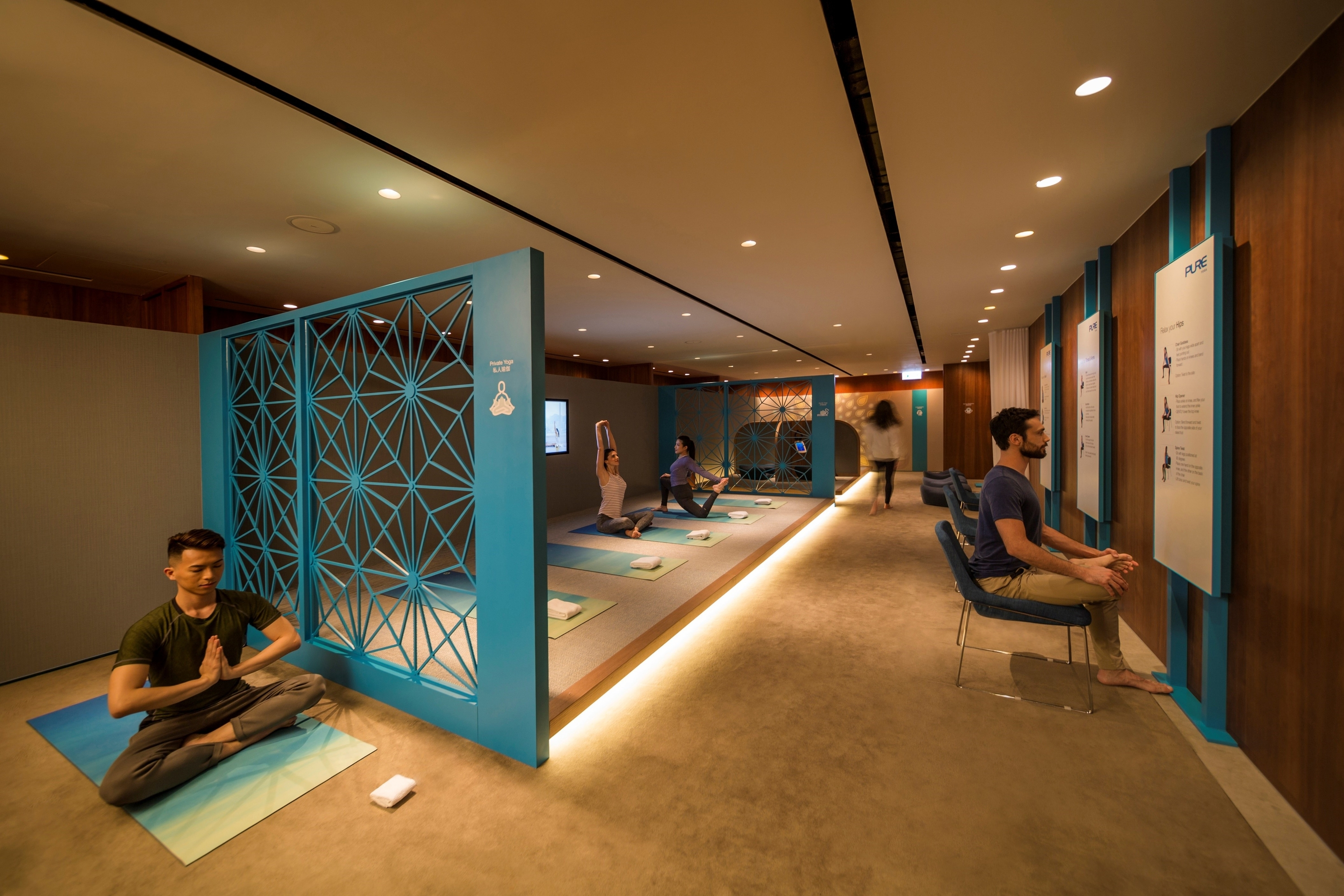 瑜逸閣 the sanctuary by pure yoga @hk airport